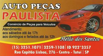 AUTO PEÇAS PAULISTA COMÉRCIO DE PEÇAS PARA VEÍCULOS
