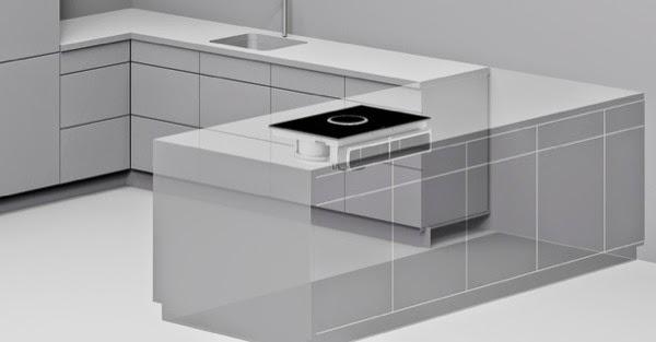 Marzua bora basic placa de cocina con extractor incorporado for Superficie cocina