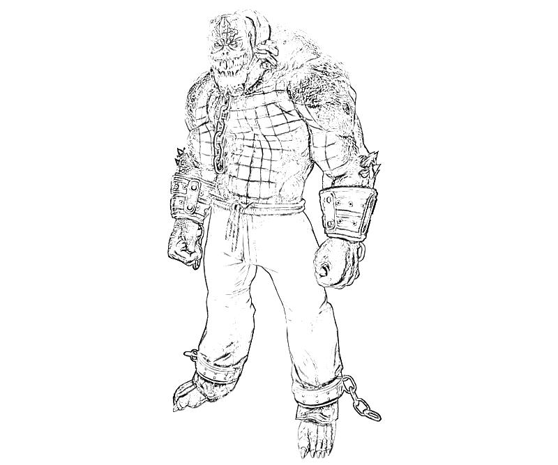 printable-batman-arkham -city-killer-croc-armored-coloring-pages