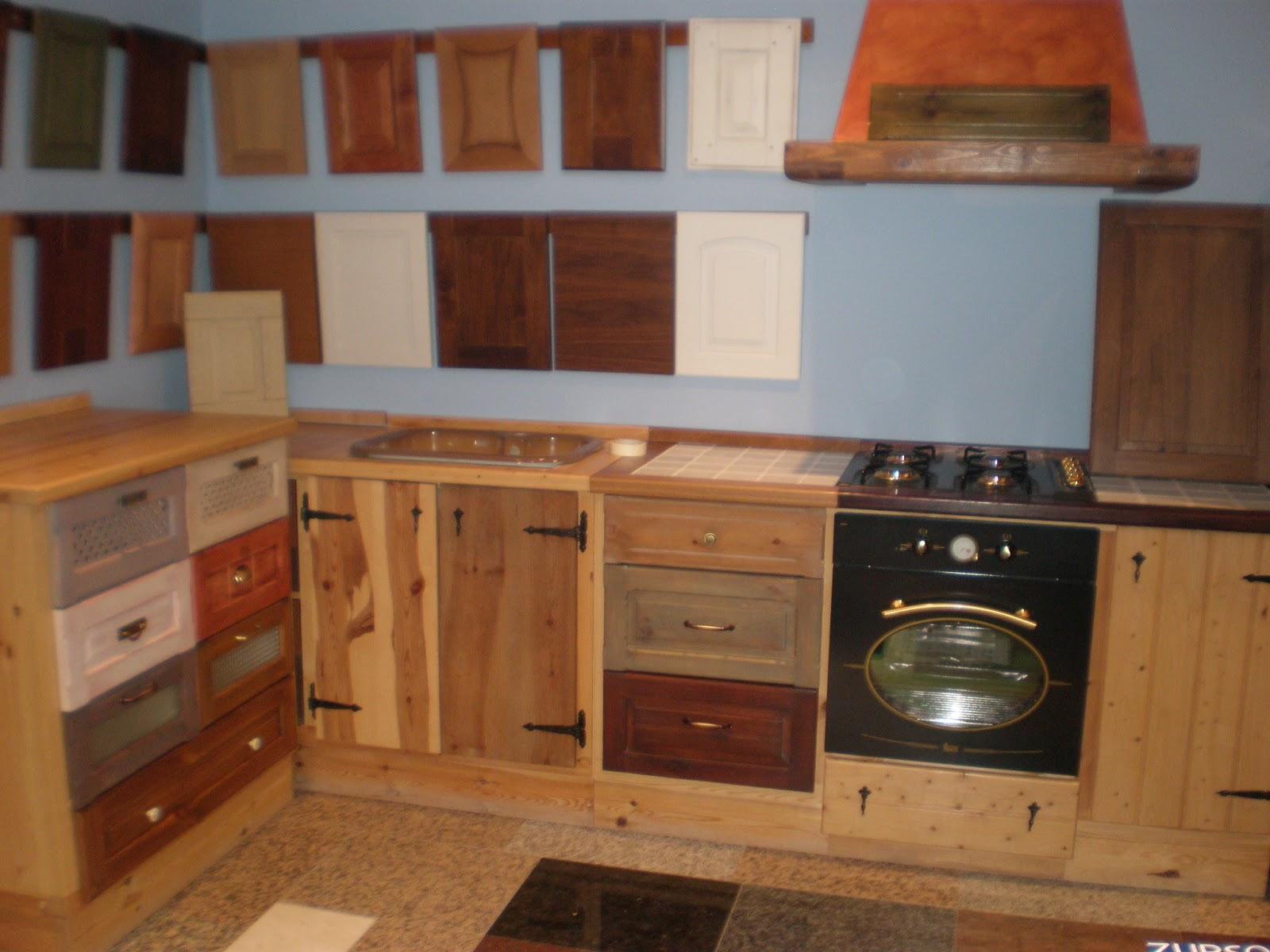 Carpinteria esteve muebles y armarios for Muebles cocina rusticos