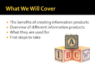how can I grow my business with information products, what is an information product