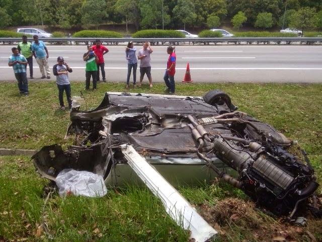 Awal Ashaari Terbabit Dalam Kemalangan Di Melaka