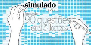 Simulado Fuvest - Folha de S. Paulo