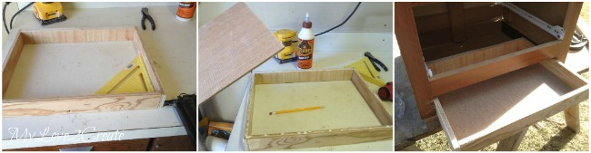 building an extra drawer for night stand