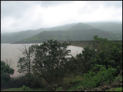 Dam back water