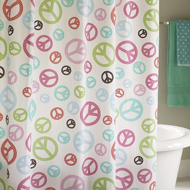 PB Teen Berkley Shower Curtain | Decor Look Alikes