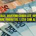 No Brasil governo cobra até 80% de impostos sobre produtos; lista com alguns ítens