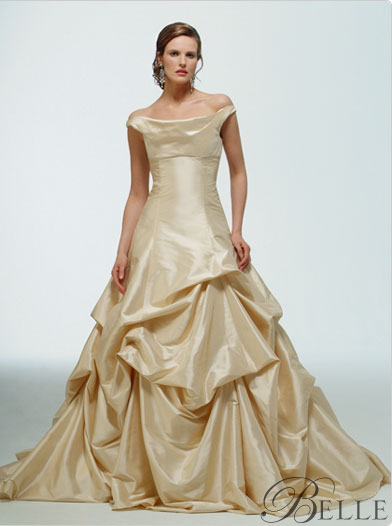 Disney princess wedding dresses designs wedding dresses for Belle style wedding dress