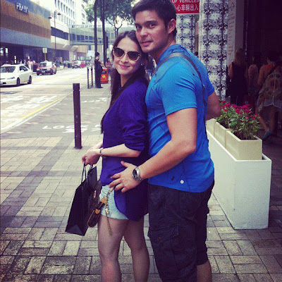 Dingdong Dantes and Marian Rivera Birthday in Hong Kong