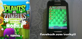Plants vs Zombies Full Touchscreen 240 x 320 Mobile Java Game by CORBYLOVE