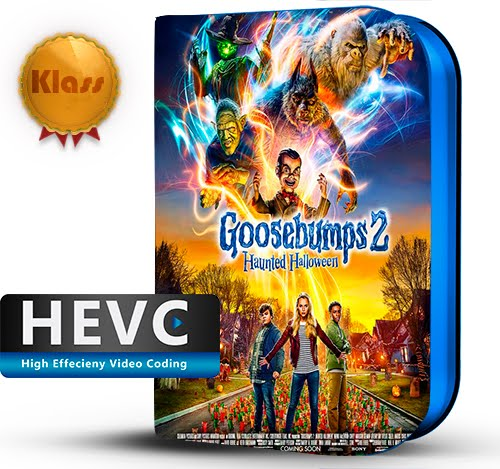 Goosebumps 2: Haunted Halloween (2018) 1080p WEB-DL HEVC-10Bits Inglés [Subt.Esp] ( Comedia. Aventuras. Terror )