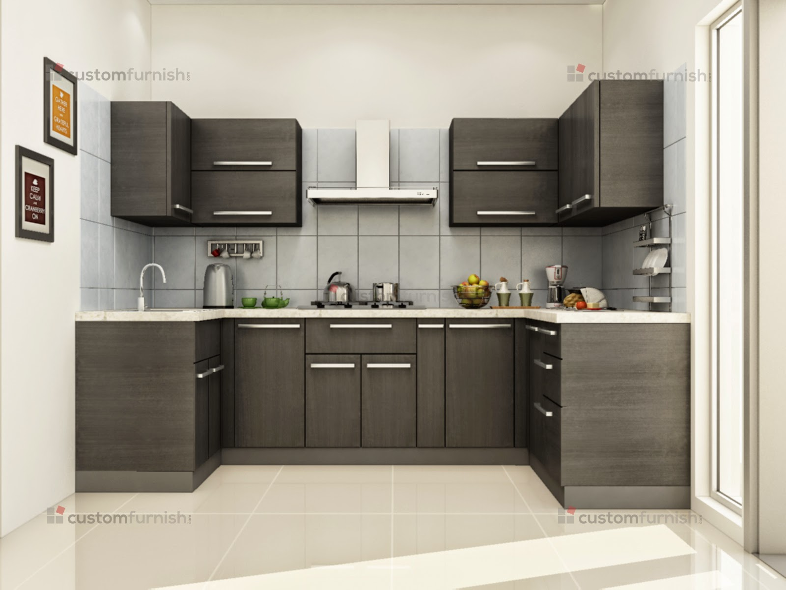 Indian kitchen design blog - Design Ideas For L Shaped Kitchens Interior Decor Blog