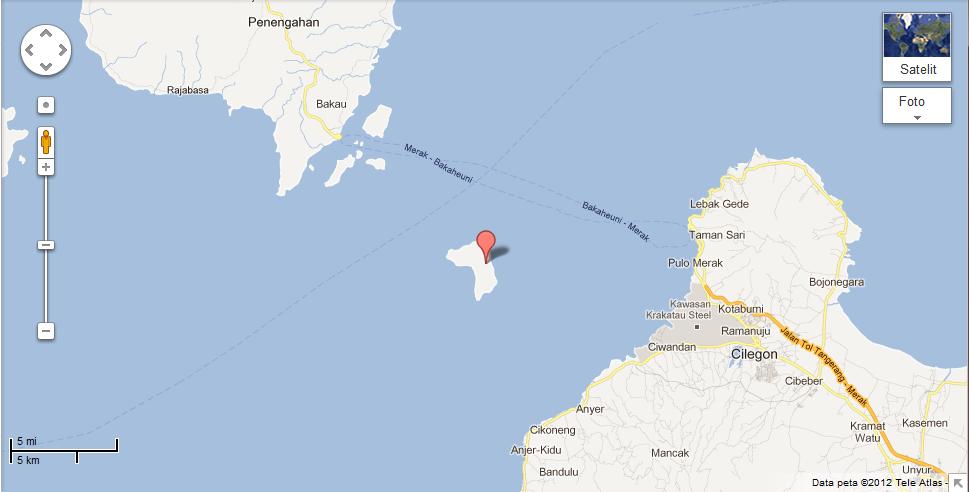 Download this Pulau Sangiang Antara... picture