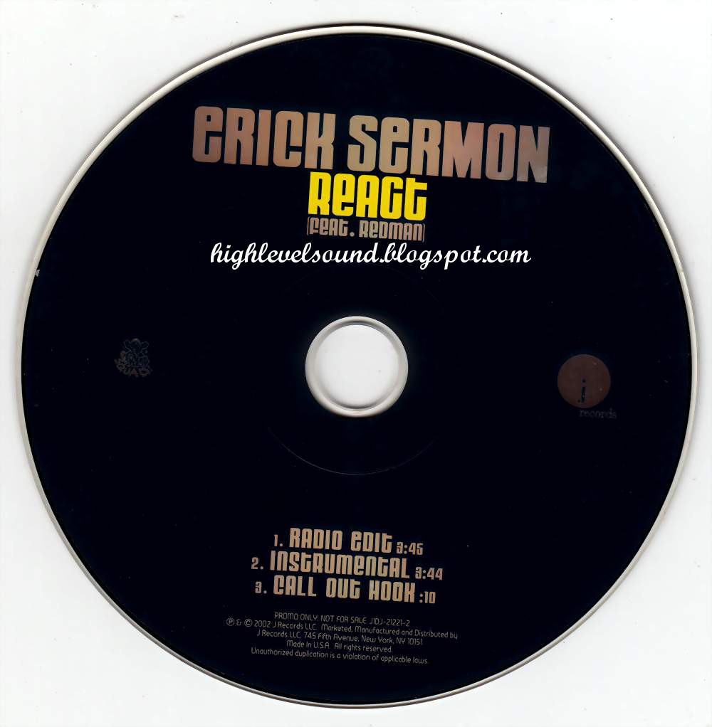 Erick Sermon - Redman Rapper's Delight