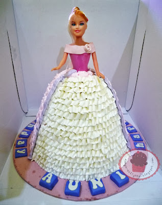 Barbie Cake - Buttercream