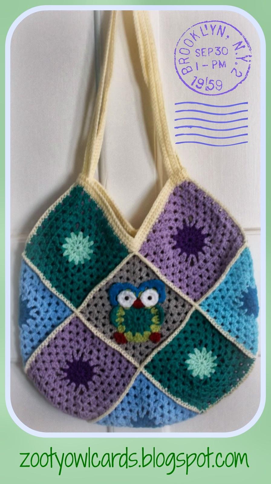 Granny Square Bag : Zooty Owls Crafty Blog: Granny Square Bag