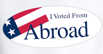 Americans Abroad...VOTE!