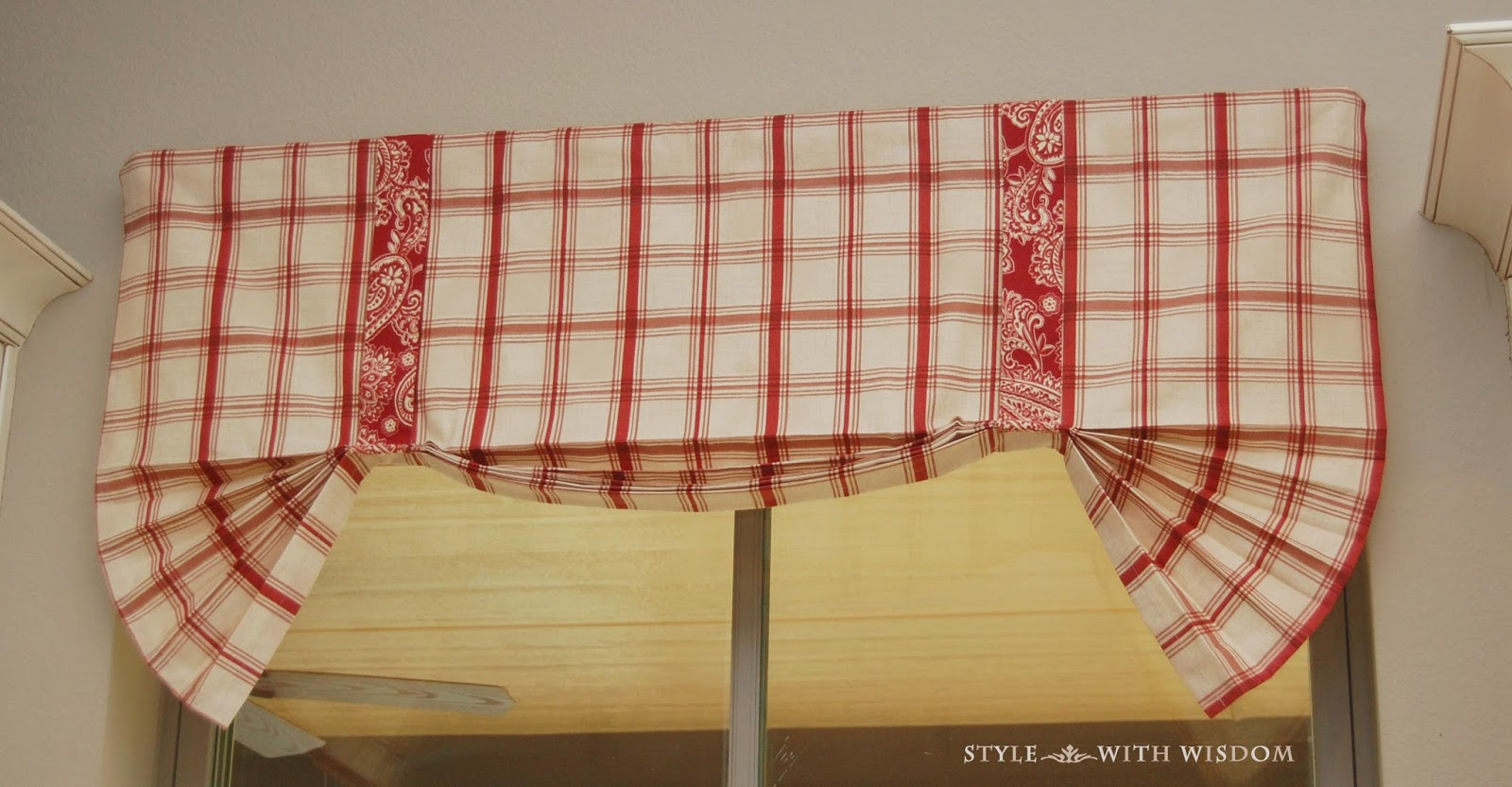 Farmhouse Decor Valance