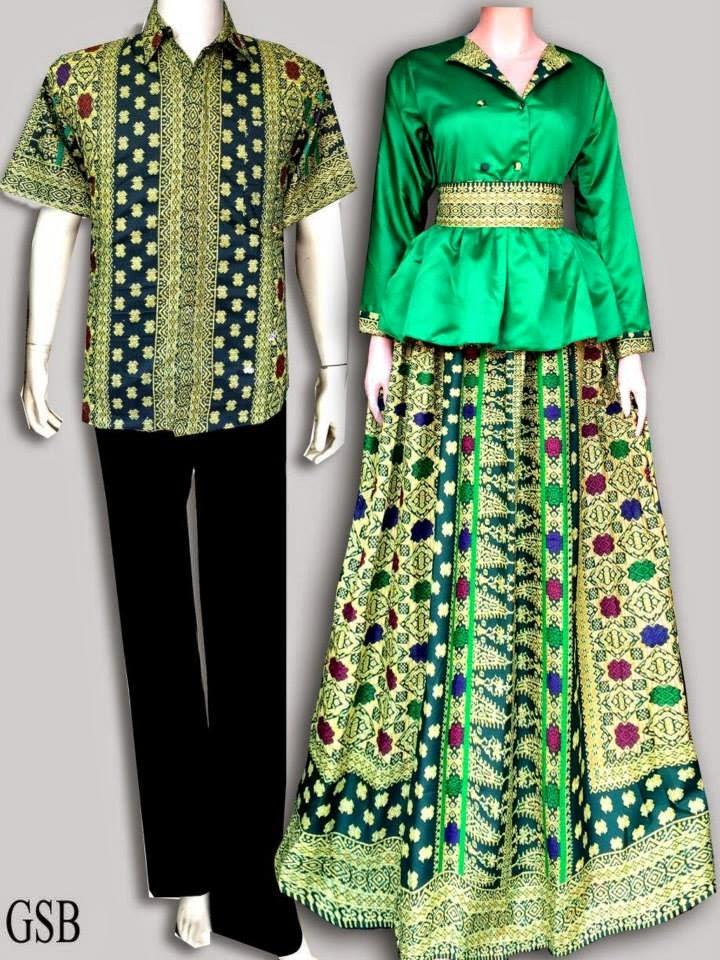 7 Baju Batik Couple Model Anak Muda Modis Terbaru 2015