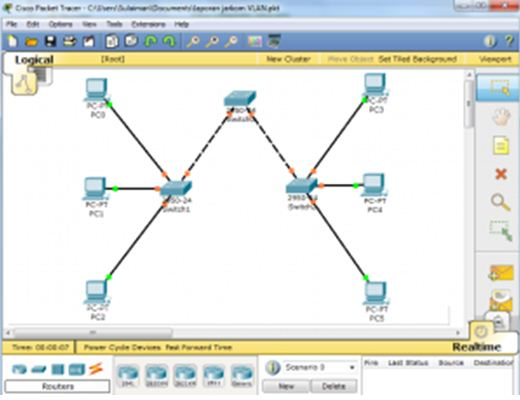 how to change router name in cisco packet tracer cli