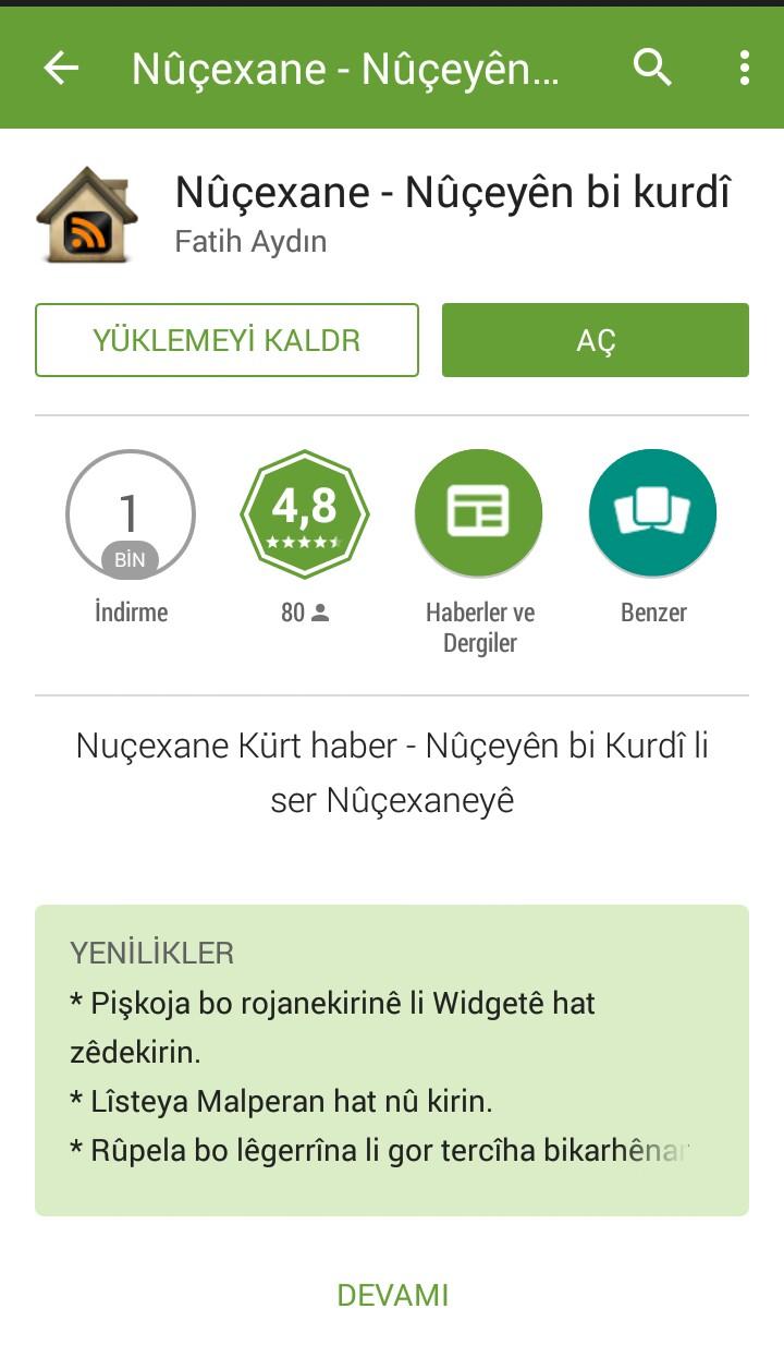 Nûçexane bo Android