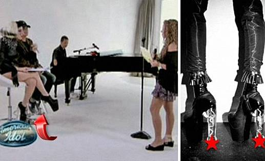 Lady Gaga sepatu penis