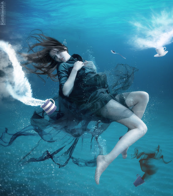 Underwater photo,digital art underwater,fantasy underwater