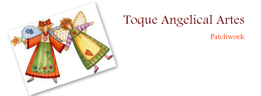 Toque Angelical Artes Patchwork