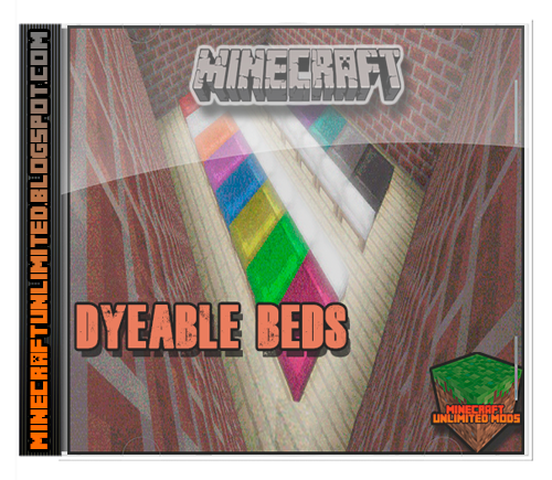 Dyeable Beds Mod minecraft