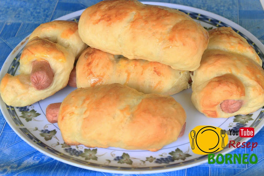 Resep Roti Sosis (Bread) Sedap