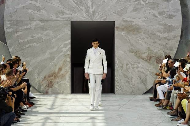 Louis Vuitton, Paris Fashion Week, menswear, Spring 2015, Suits and Shirts,