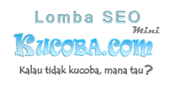 lomba seo mini - Kucoba.com Tempat Add  Bookmark