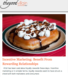 Incentive Marketing: benefit from rewarding relationships
