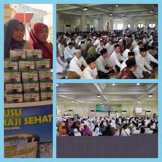 Manasik akbar calon jama'ah haji kabupaten Tangerang bersama susu haji sehat