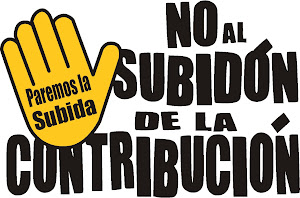 ANTE LA BRUTAL SUBIDA DE LA CONTRIBUCION