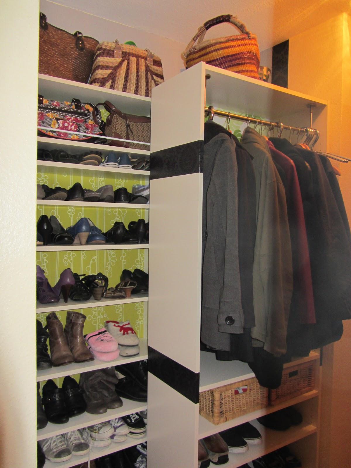 kreativ oder primitiv pimp your billy regal schuhregal garderobe. Black Bedroom Furniture Sets. Home Design Ideas