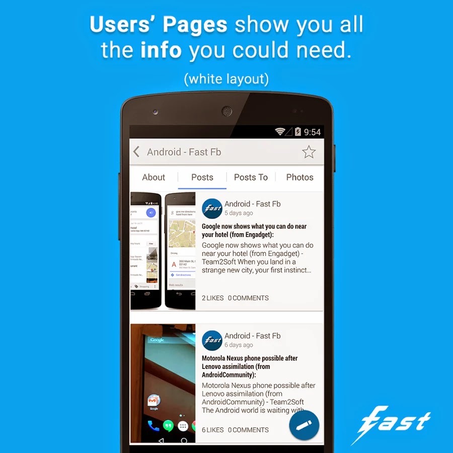 Fast Pro for Facebook v2.7.2