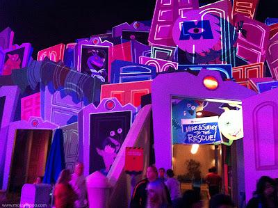 Monsters Inc. dark ride DCA Disney California Adventure Pixar