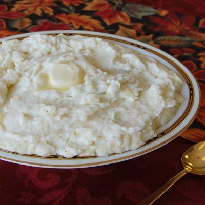 Big Martha's Mashed Potatoes with Cream Cheese