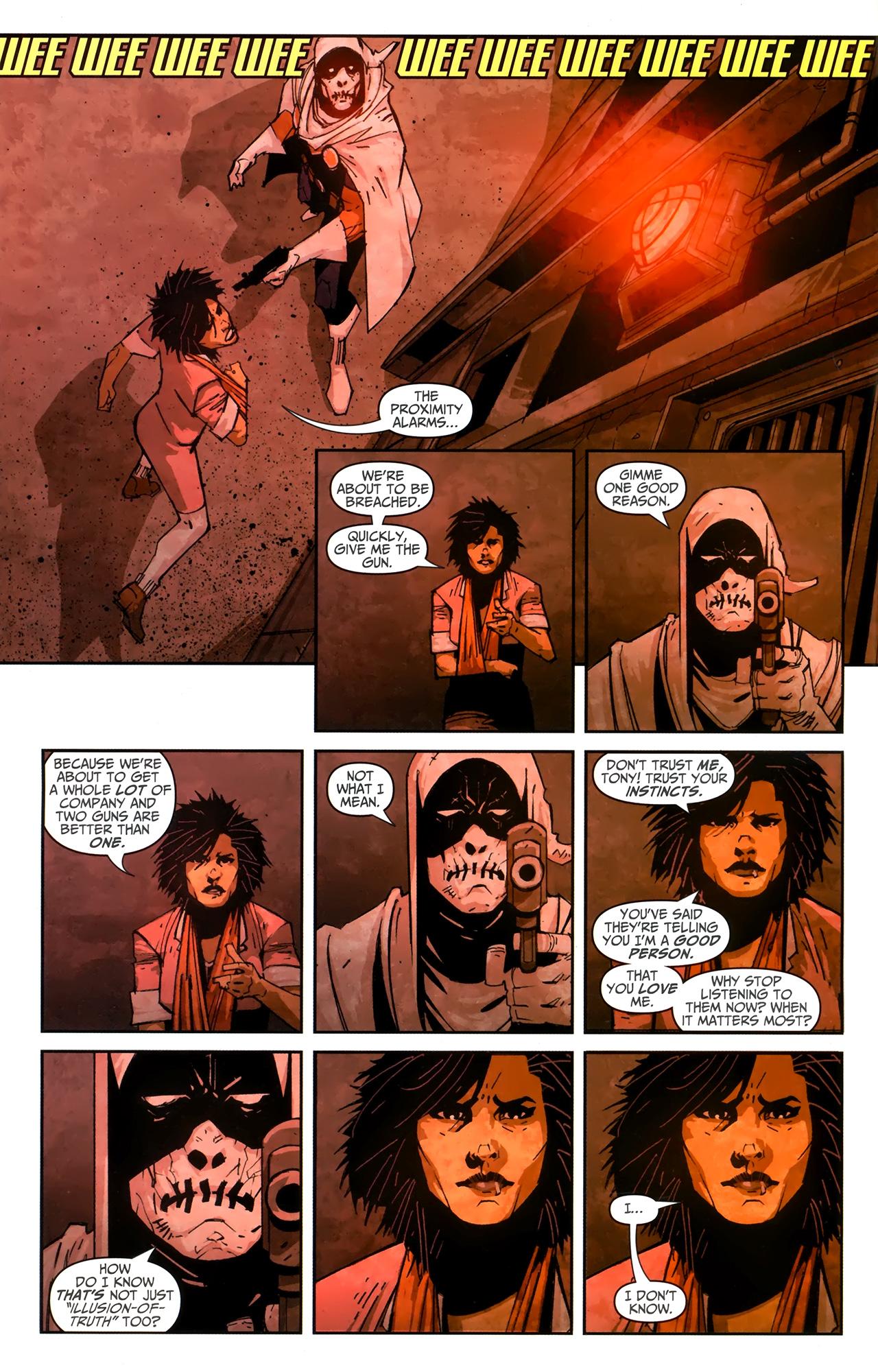 Read online Taskmaster (2010) comic -  Issue #4 - 8