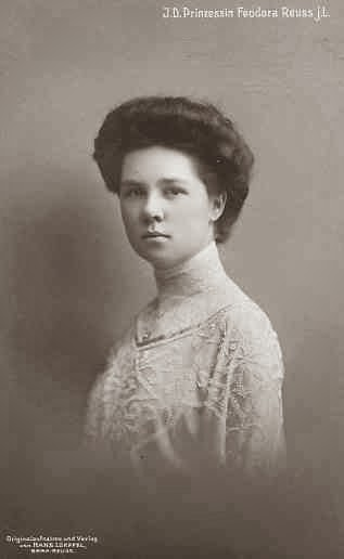 Princesse Victoria Feodora Reuss j. L. 1889-1918