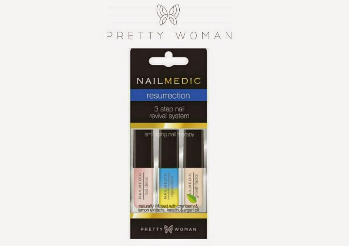 LacqueredMama: Pretty Woman USA - Nail Medic