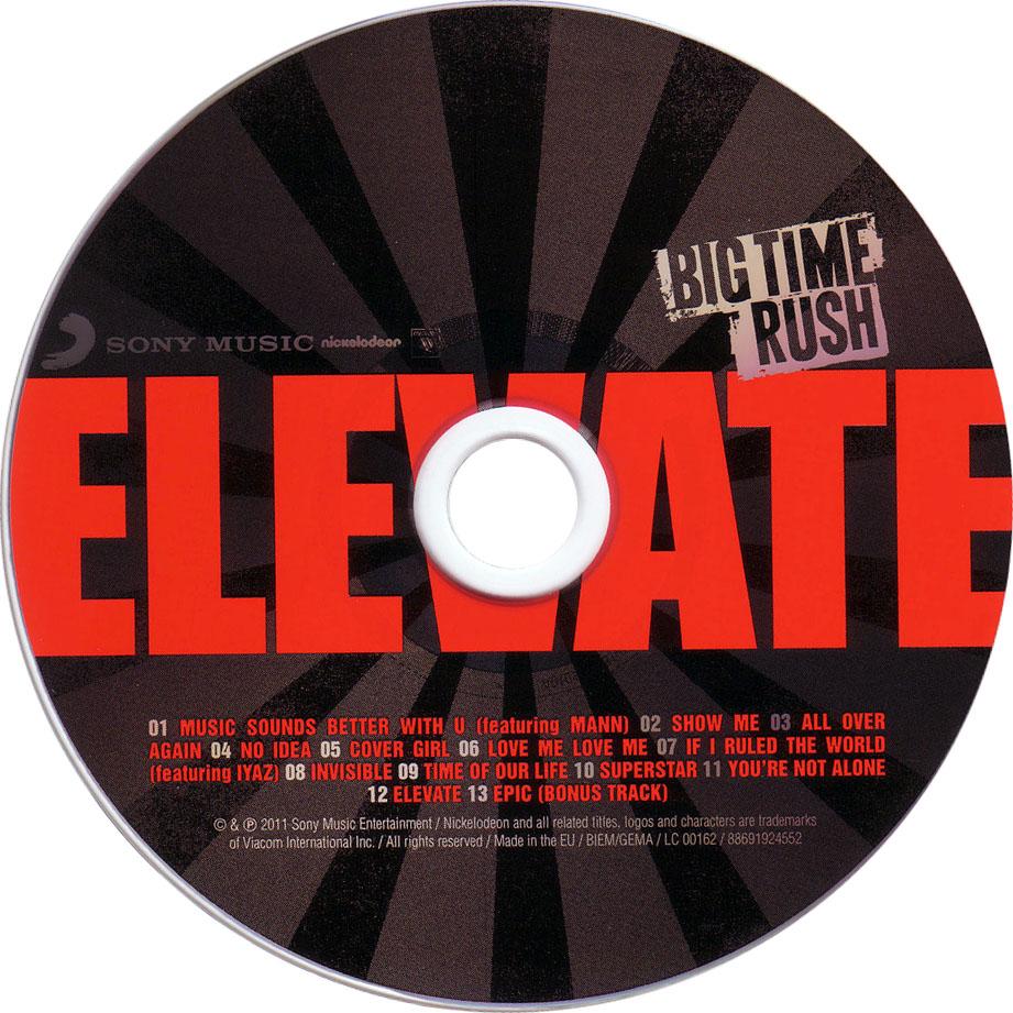 Album De Big Time Rush Elevate