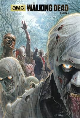 The Walking Dead, il poster del Comic-Con disegnato da  Alex Ross
