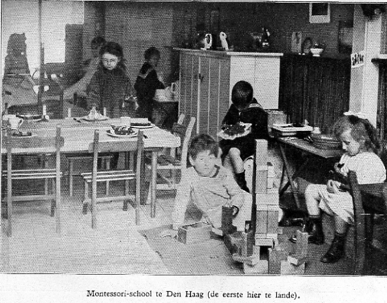 NAMC montessori week celebrate Maria Montessori historical classroom environment