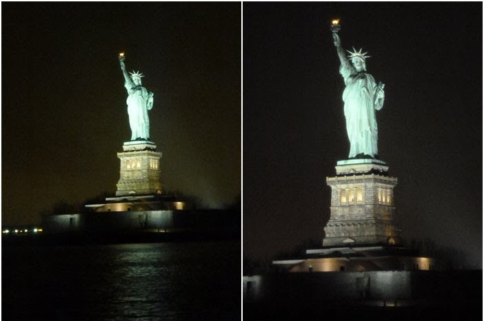 New York :: Skyline Manhattan at Day and Night + Statue of Liberty