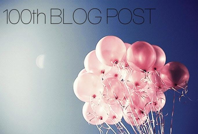 Celebrate 100 post blog