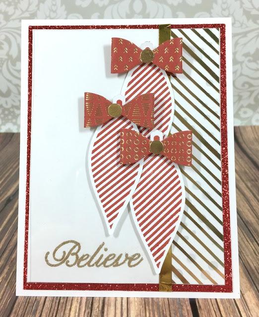 Cricut Artiste Believe Card