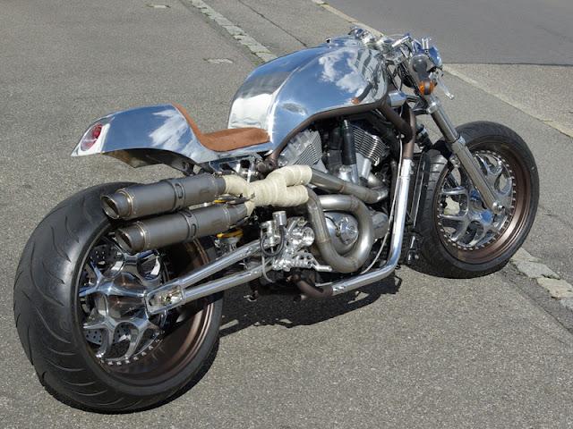 Harley-Davidson V-Rod cafe racer