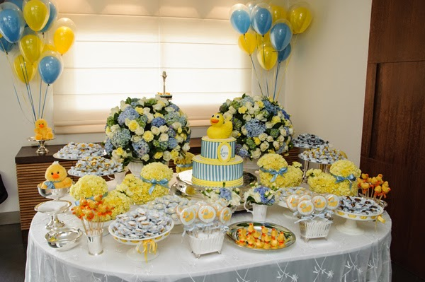 decoracao azul e amarelo para cha de bebe : decoracao azul e amarelo para cha de bebe:Chá de bebê: amarelo + azul